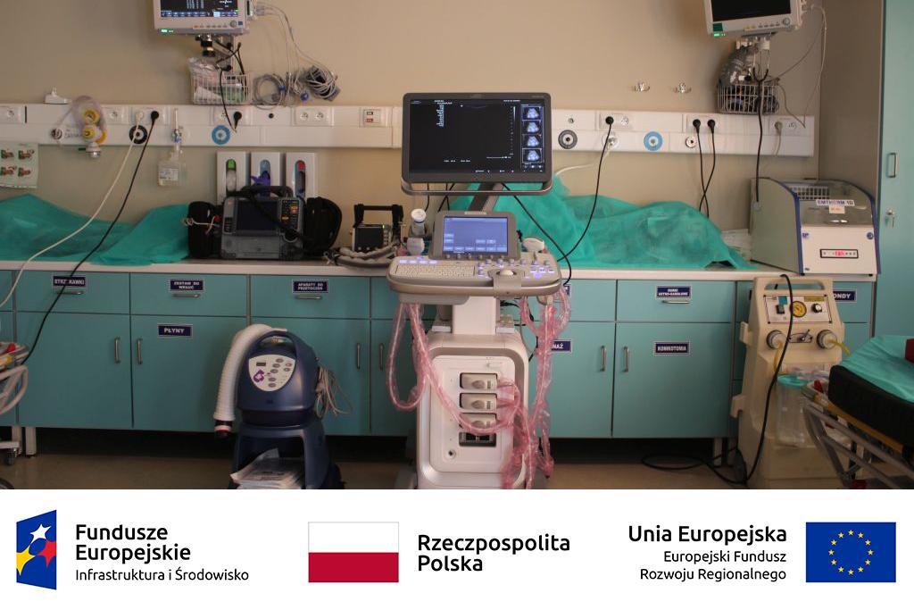 Szpitalny Oddział Ratunkowy dzięki unijnemu wsparciu zyskał nowy sprzęt